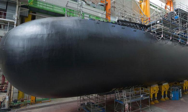 La France lance son nouveau sous-marin nucléaire «Suffren»