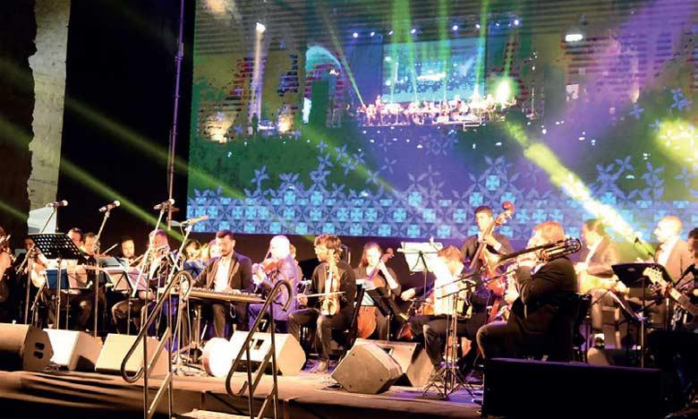 L'orchestre philharmonique Symphonyat à  Casablanca