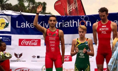 Badr Siwane termine deuxième  à Lake Kivu au Rwanda
