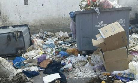 La cité de Mazagan croule sous les ordures
