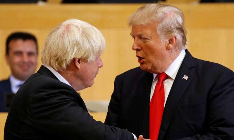 Trump travaille déjà sur un accord de libre-échange avec Boris Johnson