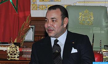 Message de S.M. le Roi au Président égyptien