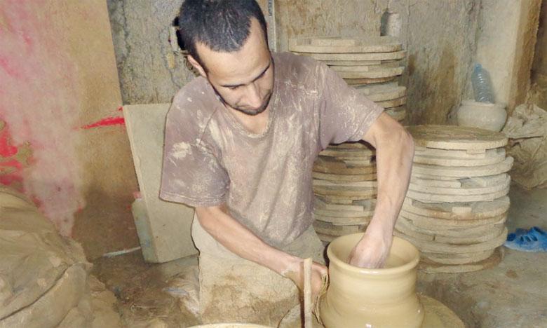 Des fours à gaz remis aux potiers du Complexe artisanal de l'Oulja à Salé
