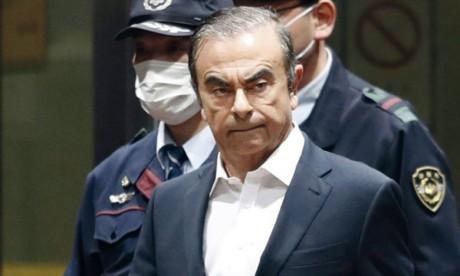 Arrêté le 19 novembre 2018, Carlos Ghosn a passé 130 jours en détention à Tokyo.                   Ph. Reuters