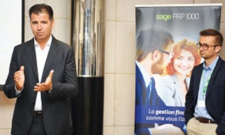 Sage fait la promo de sa solution  de gestion financière dématérialisée