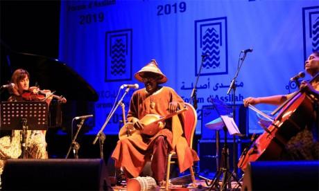 Les artistes africains partagent leur musique avec le public