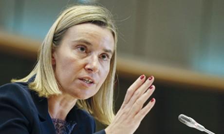 La chef de la diplomatie de l'UE, Federica Mogherini, a averti que l'UE allait élargir ses mesures contre les autorités vénézuéliennes.            Ph. DR