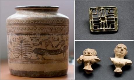 France:  un trésor archéologique restitué aux autorités pakistanaises