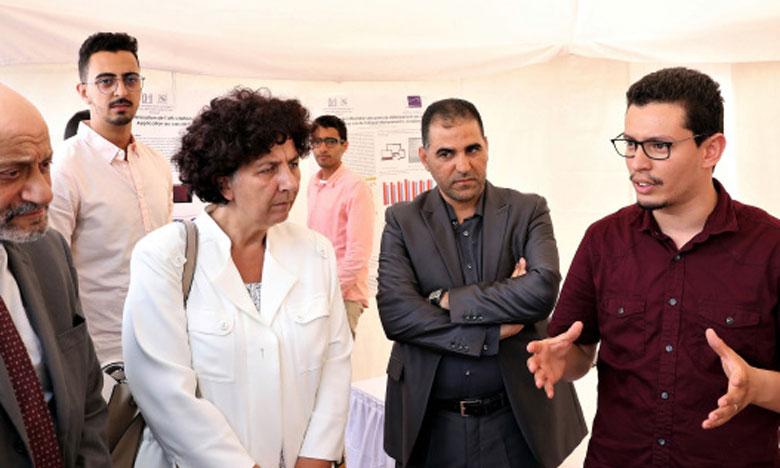 Saaïd Amzazi et Frédérique Vidal visitent le Pôle SALEEL d'accompagnement de l'étudiant pour l'entrepreneuriat et l'innovation