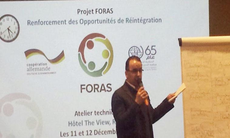 L'OIM évalue le projet «FORAS - Renforcement des opportunités de réintégration»