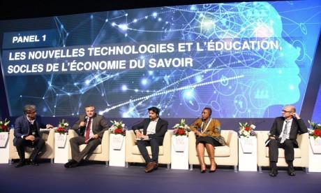 « Les nouvelles technologies et l'éducation, socles de l'Économie du Savoir », c'est le thème du panel 1 du MTF.