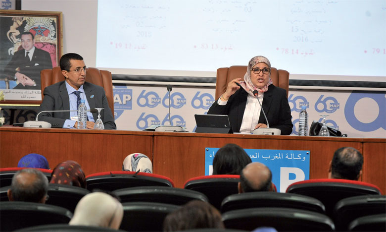 Bassima Hakkaoui a reconnu que malgré l'adoption par le Maroc d'un arsenal juridique très avancé criminalisant toutes les formes de violence faites aux femmes, force est de constater que le phénomène de la violence sévit encore. Ph. Kartouch