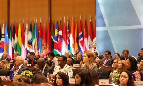 Mounia Boucetta met en avant à Washington les initiatives  de S.M. le Roi en vue de promouvoir le dialogue interreligieux