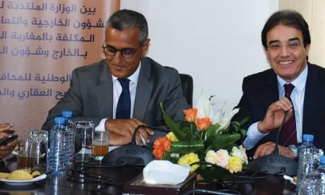 Le ministère chargé des MRE et la Conservation foncière renouvellent leur partenariat