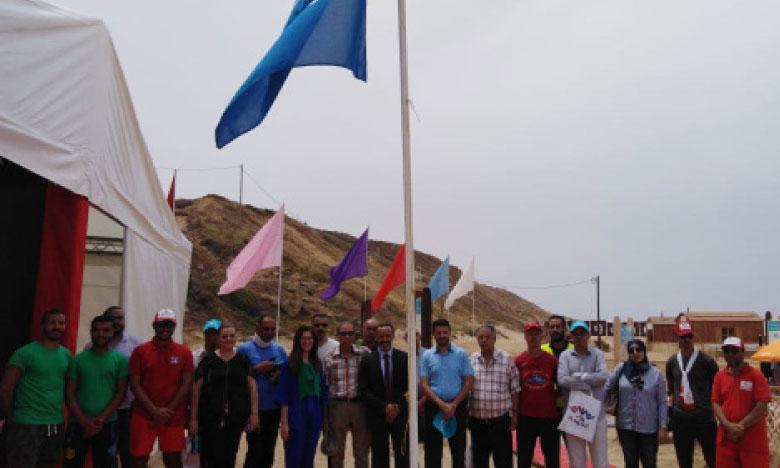 La plage Ba Kassem bat Pavillon bleu pour la 7e année consécutive
