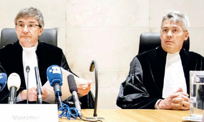 La justice réduit la responsabilité de l'État néerlandais