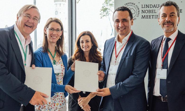 Le Mémorandum d'entente a été signé en marge de la 69e Rencontre des lauréats du prix Nobel à Lindau qui s'est déroulée du 30 juin au 5 juillet 2019.