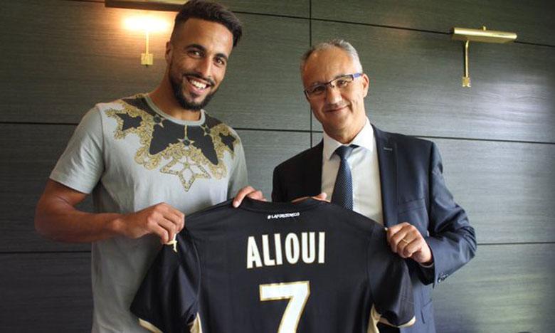 Rachid Alioui file au SCO d'Angers