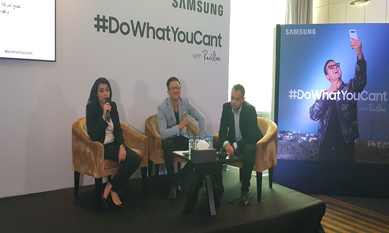 #dowhatyoucant : RedOne en campagne pour Samsung