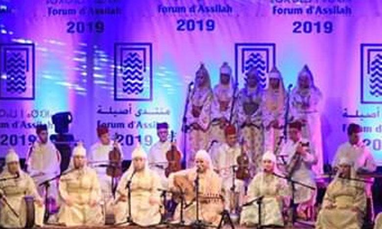 La Hadra Chefchaounia offre une belle soirée  de chants spirituels