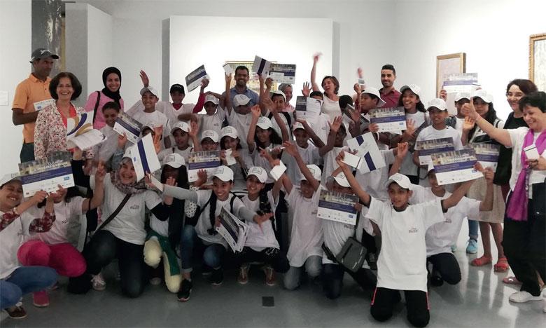 Redal fait découvrir les couleurs de l'impressionnisme aux jeunes écoliers marocains