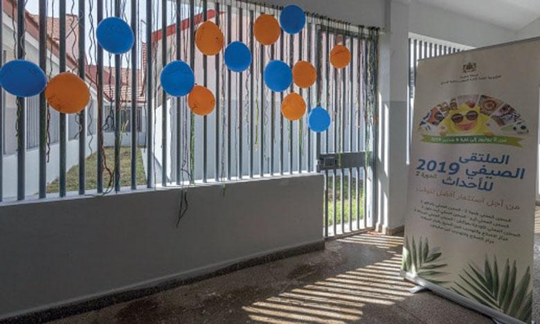 Tomber de rideau sur la 2e Rencontre estivale  des détenus mineurs à Khouribga