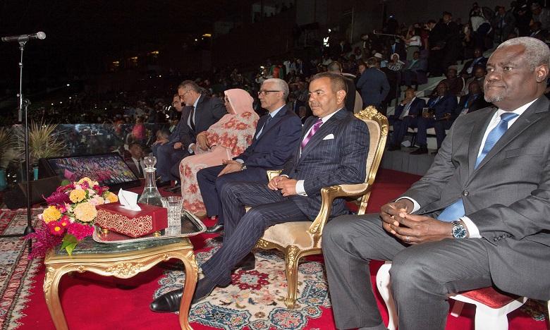 S.A.R. le Prince Moulay Rachid préside la cérémonie d'ouverture de la 12ème édition des jeux africains