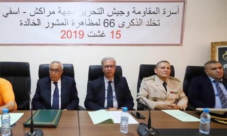 Meeting à Marrakech en commémoration du 66e anniversaire de la manifestation du Mechouar