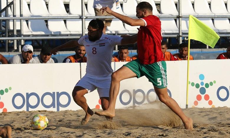 Jeux méditerranéen de plage, beach soccer : les Lions assomment la Syrie