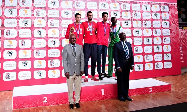 Avec 33 médailles dont 10 en or, 9 en argent et 14 en bronze, le Royaume demeure à la quatrième place du classement général de cette compétition continentale. Ph : MAP
