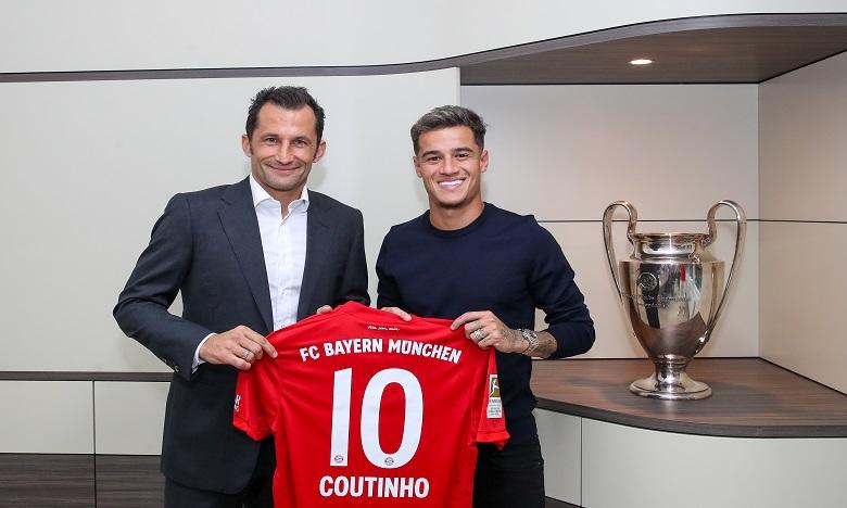 FC Barcelone : Coutinho prêté un an au Bayern pour 8,5 millions d'euros