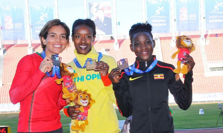 Le Maroc décroche 5 médailles  mardi, le Nigeria déloge l'Algérie