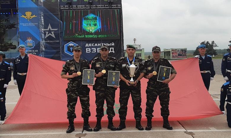 Jeux Internationaux de l'Armée 2019 : Les parachutistes des FAR à l'honneur