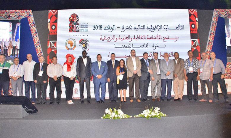 La qualité de l'organisation louée et Rachid Talbi Alami honoré à Rabat