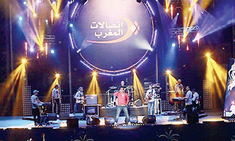 Maroc Telecom a organisé plus de 135 concerts  donnés dans 7 villes