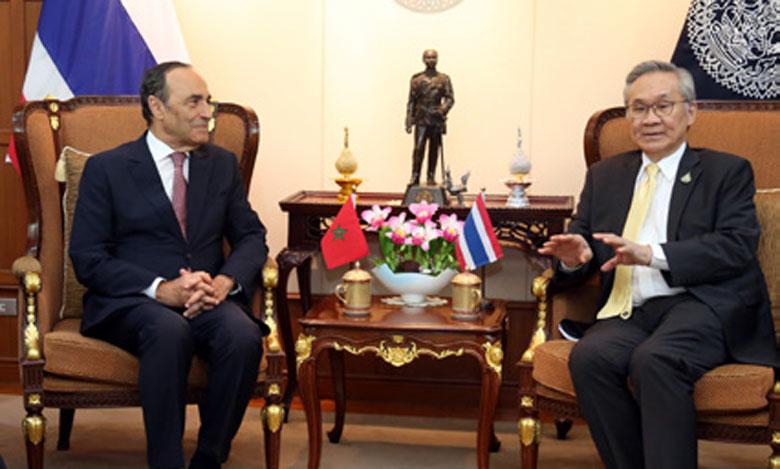 Le ministre des AE thaïlandais appelle à l'intensification des échanges Maroc-Thaïlande pour ériger une coopération entreprenante