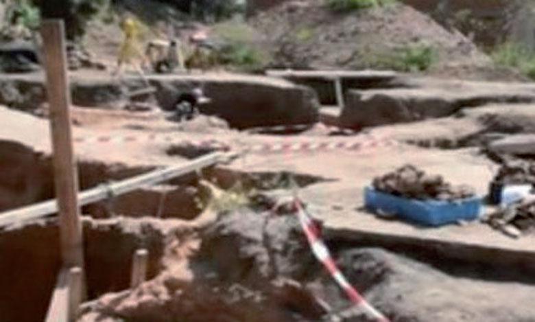 Fouilles archéologiques à Dar El Baroud