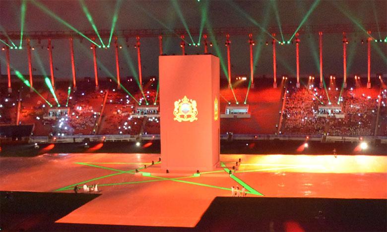 Rabat accueille les participants en grande pompe et offre  une cérémonie d'ouverture riche en couleurs et en symboles
