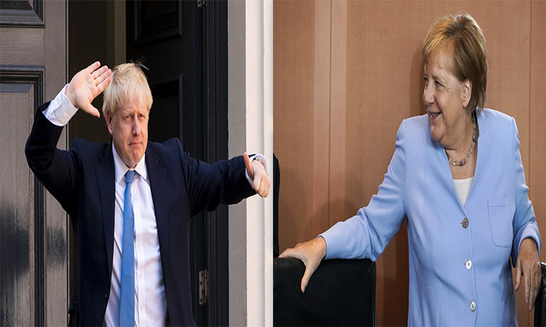Brexit : Merkel souhaite rencontrer Boris Johnson