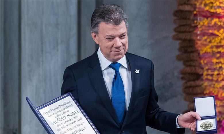 Le quatrième Prix Mémoire pour la démocratie et la paix sera décerné à l'ex-président de Colombie, Juan Manuel Santos, Prix Nobel de la paix.