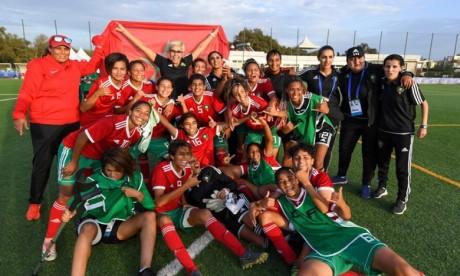 Les Lionnes U20 médaillées de bronze aux Jeux Africains