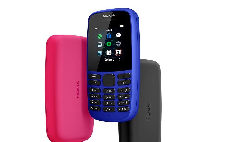 Le nouveau Nokia 105 commercialisé à partir de septembre