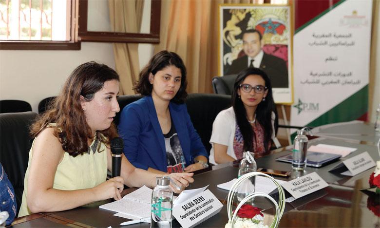 Le «Parlement Jeunesse du Maroc» plaide pour un engagement  accru des jeunes dans la vie politique