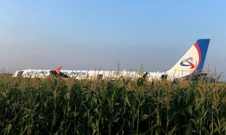 Russie: 23 blessés dans l'atterrissage d'urgence d'un Airbus