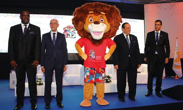 La Mascotte des Jeux africains de Rabat 2019.