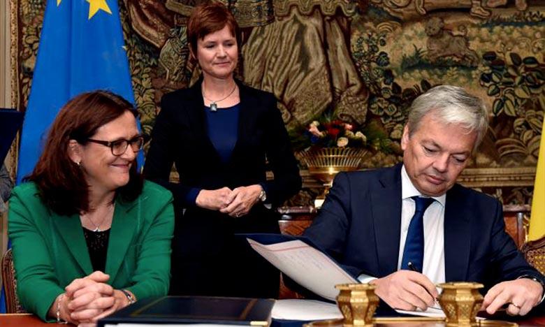 Didier Reynders , candidat belge à la Commission européenne