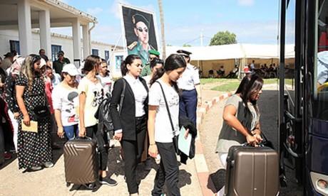 La troisième Base aérienne des FAR à Kénitra accueille  un groupe de 357 candidats convoqués