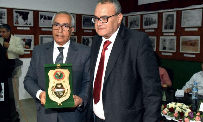 La rencontre a été l'occasion de rendre hommage à plusieurs anciens résistants de la province  de Kénitra et de la région.