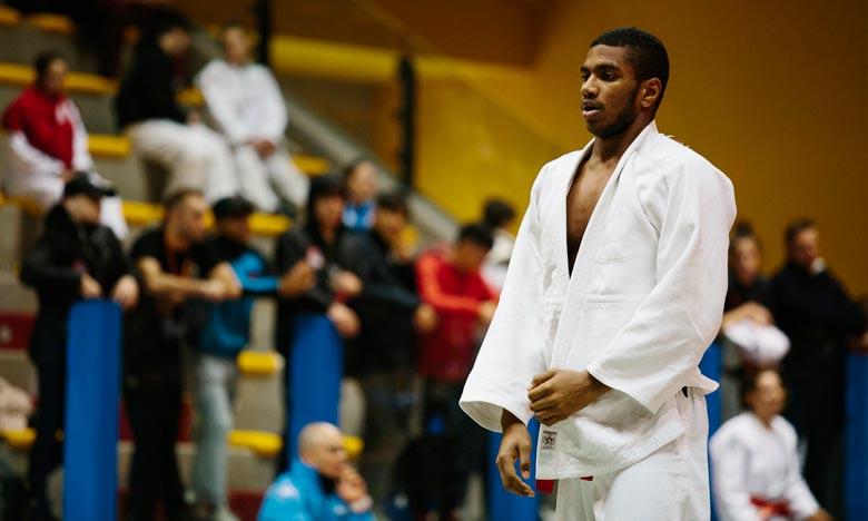 Lahboub a offert la onzième médaille au judo marocain lors de cette compétition. Ph : DR