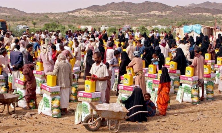 Au Yémen, des millions de personnes qui, sans aucune faute de leur part, sont les victimes de ce conflit, comptent sur nous pour survivre. Ph :  AFP